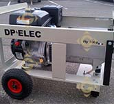 Fly 5000 Groupe Électrogène FLY5000GE DP ELEC