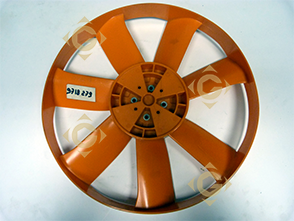 Spare parts Suction Fan 9718335 For Engines LOMBARDINI, by marks LOMBARDINI