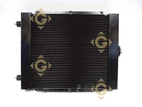 Spare parts Triple Circuit Radiator 7350366 For Engines LOMBARDINI, by marks LOMBARDINI