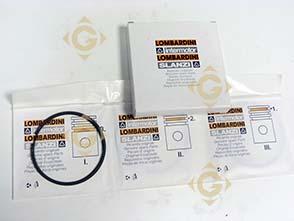 Pièces détachées Série Segment +1,00 8211229 Pour Moteurs Lombardini, de marque Lombardini