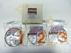 Pièces détachées Série Segment +1,00 8211214 Pour Moteurs Lombardini, de marque Lombardini