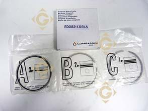 Pièces détachées Série Segment +0,5 8211207 Pour Moteurs Lombardini, de marque Lombardini