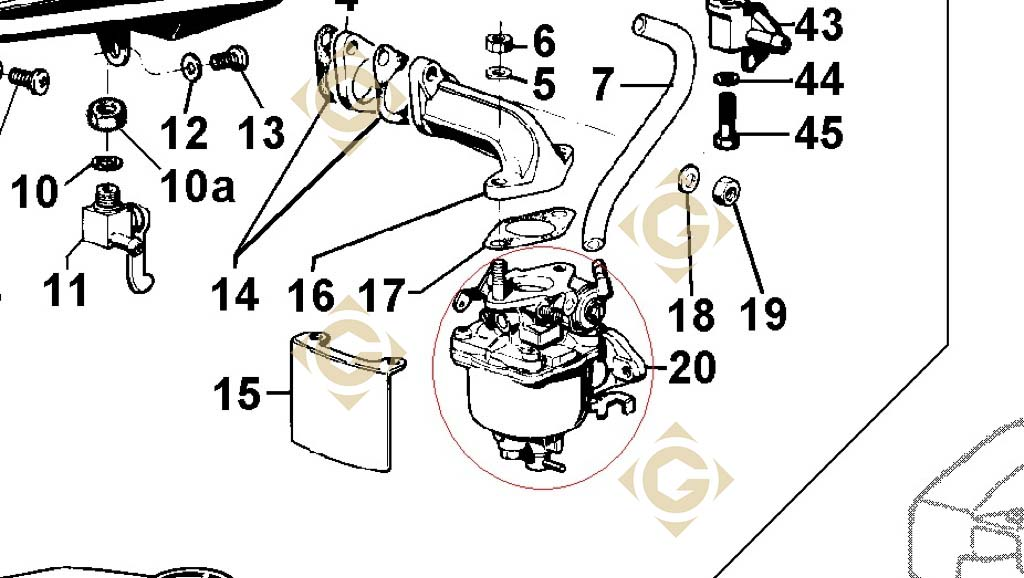 parts for lombardini engine