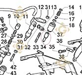 Injector 6531425 engines LOMBARDINI