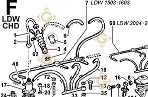 Spare parts Injector 6531468 For Engines LOMBARDINI, by marks LOMBARDINI