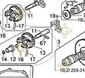 Groupe Régulateur 4896435 moteurs Lombardini