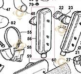 Echappement 5460292 moteurs Lombardini