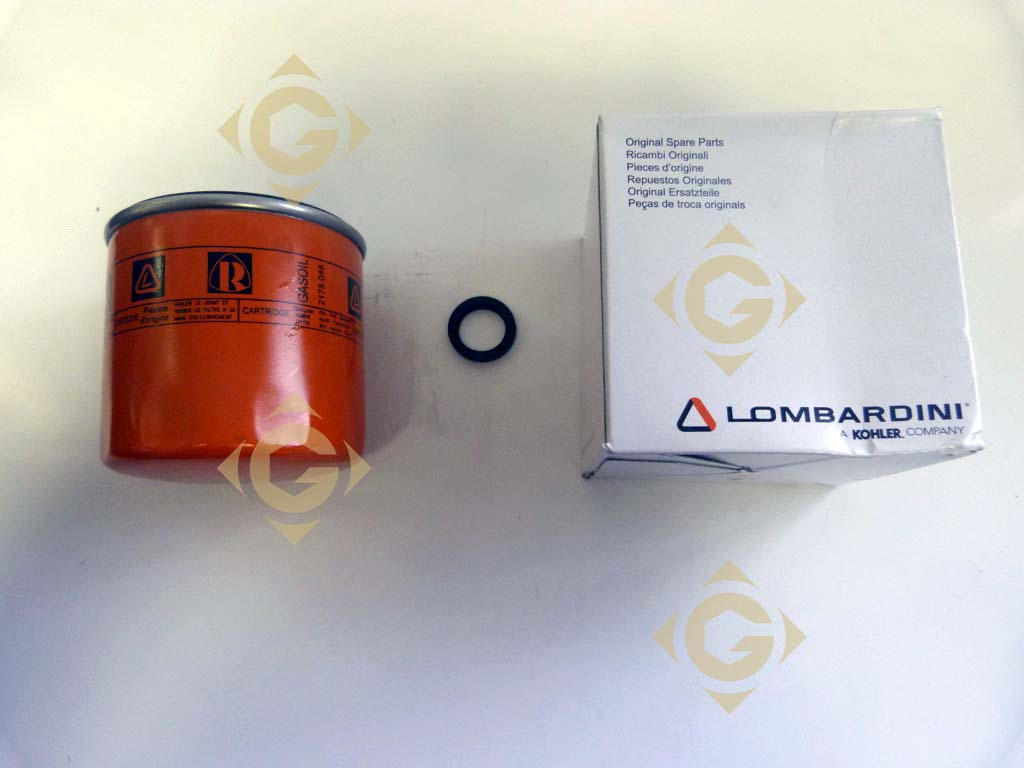 spare parts fuel filter cartridge 2175288 for engines lombardini, by marks  lombardini