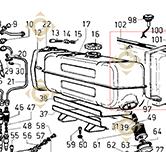 Tank 8103021 engines LOMBARDINI
