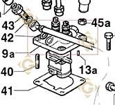 Injector Pump 6590468 engines LOMBARDINI