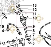 Injector Pump 6590438 engines LOMBARDINI