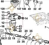 Injector Pump 6590285 engines LOMBARDINI