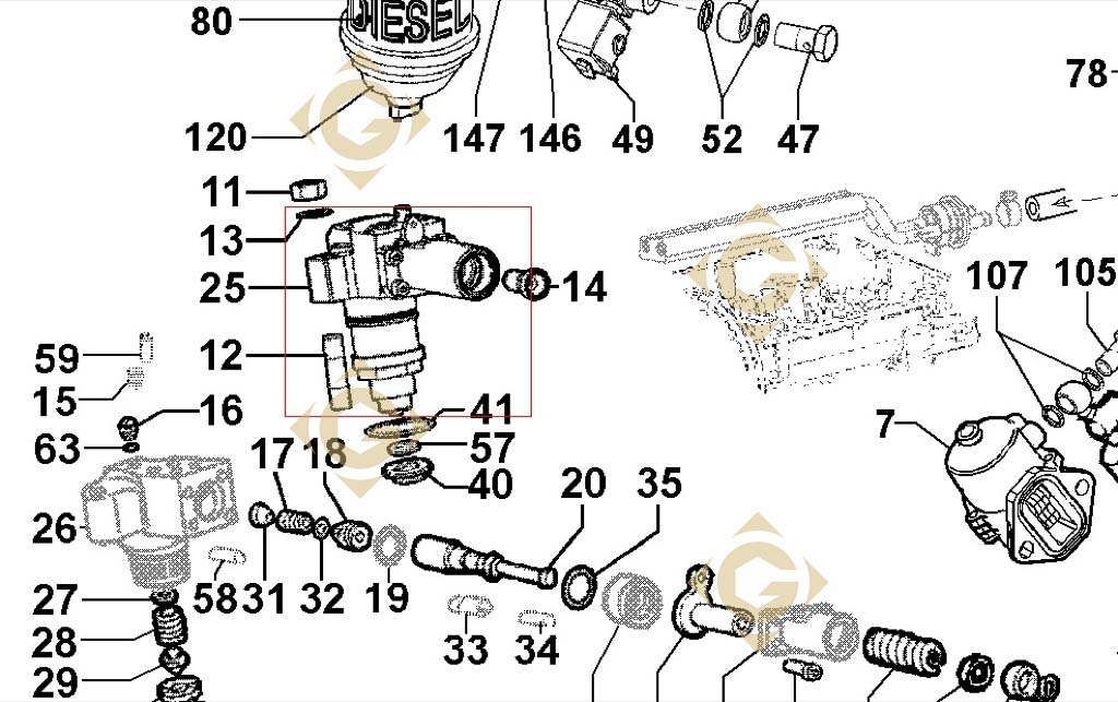 K Jetronic L 1 likewise S191391 further Cat 40 Pin Ecm Wiring Diagram likewise WX5e 12320 furthermore Duramax Lb7 Wiring Harness. on fuel pump injector