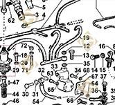 Injector Pump 6590376 engines LOMBARDINI