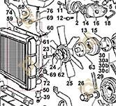 Shroud 2569517 engines LOMBARDINI