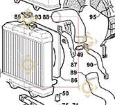 Shroud 2569485 engines LOMBARDINI