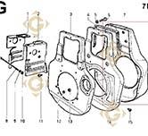 Shroud 2569039 engines LOMBARDINI