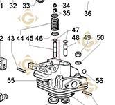 Valve Guide 4845154 engines LOMBARDINI