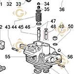 Valve Guide 4845156 engines LOMBARDINI