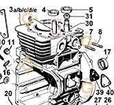 Valve Guide 4845028 engines LOMBARDINI