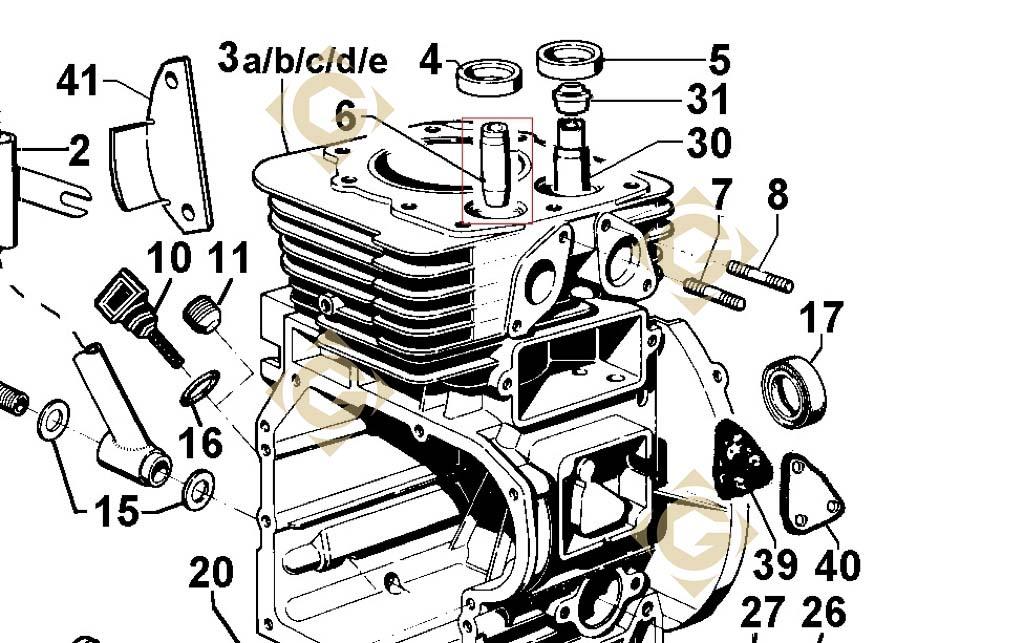 valve guide 4845028 engines lombardini gdn industries rh gdn industries com lombardini 6ld400 engine manual lombardini engine parts manual