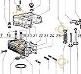 Valve Guide 4845182 engines LOMBARDINI