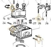 Valve Guide 4845170 engines LOMBARDINI