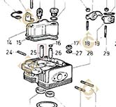 Valve Guide 4845171 engines LOMBARDINI