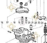 Valve Guide 4845158 engines LOMBARDINI
