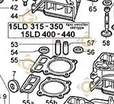 Guide Soupape 4845218 moteurs Lombardini