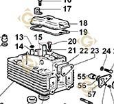 Valve Guide 4845162 engines LOMBARDINI