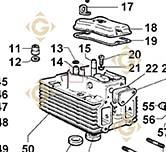 Valve Guide 4845164 engines LOMBARDINI