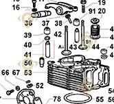 Valve Guide 4845247 engines LOMBARDINI