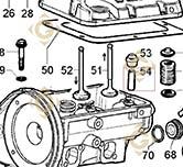 Guide Soupape 4845200 moteurs Lombardini