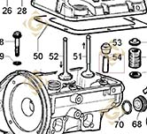 Valve Guide 4845200 engines LOMBARDINI