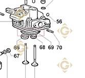 Head Gasket 0,80 4730119 engines LOMBARDINI