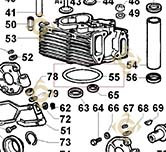 Head Gasket 0,85 4730195 engines LOMBARDINI