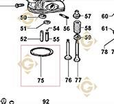 Head Gasket 0,70 4730146 engines LOMBARDINI