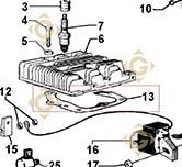 Head Gasket Std 4730537 engines LOMBARDINI