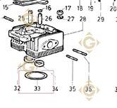 Head Gasket 0,90 4730075 engines LOMBARDINI