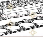 Head Gasket 1,65 4730019 engines LOMBARDINI