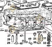 Head Gasket 1,80 4730622 engines LOMBARDINI