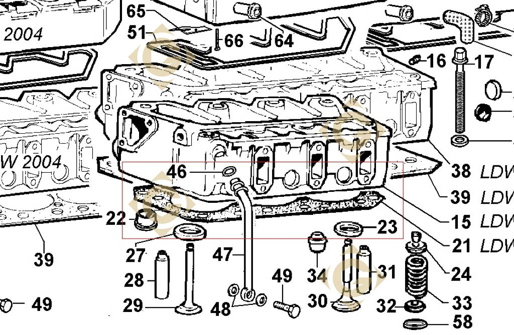head gasket 1 80 4730622 engine lombardini ldw 1603 gdn. Black Bedroom Furniture Sets. Home Design Ideas