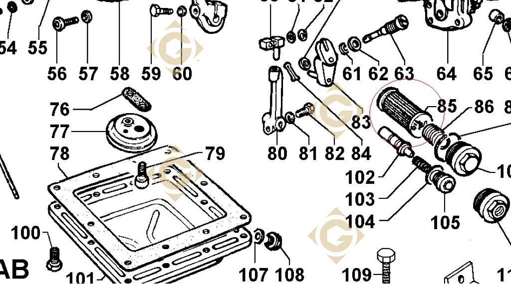oil filter cartridge 2175019 engines lombardini
