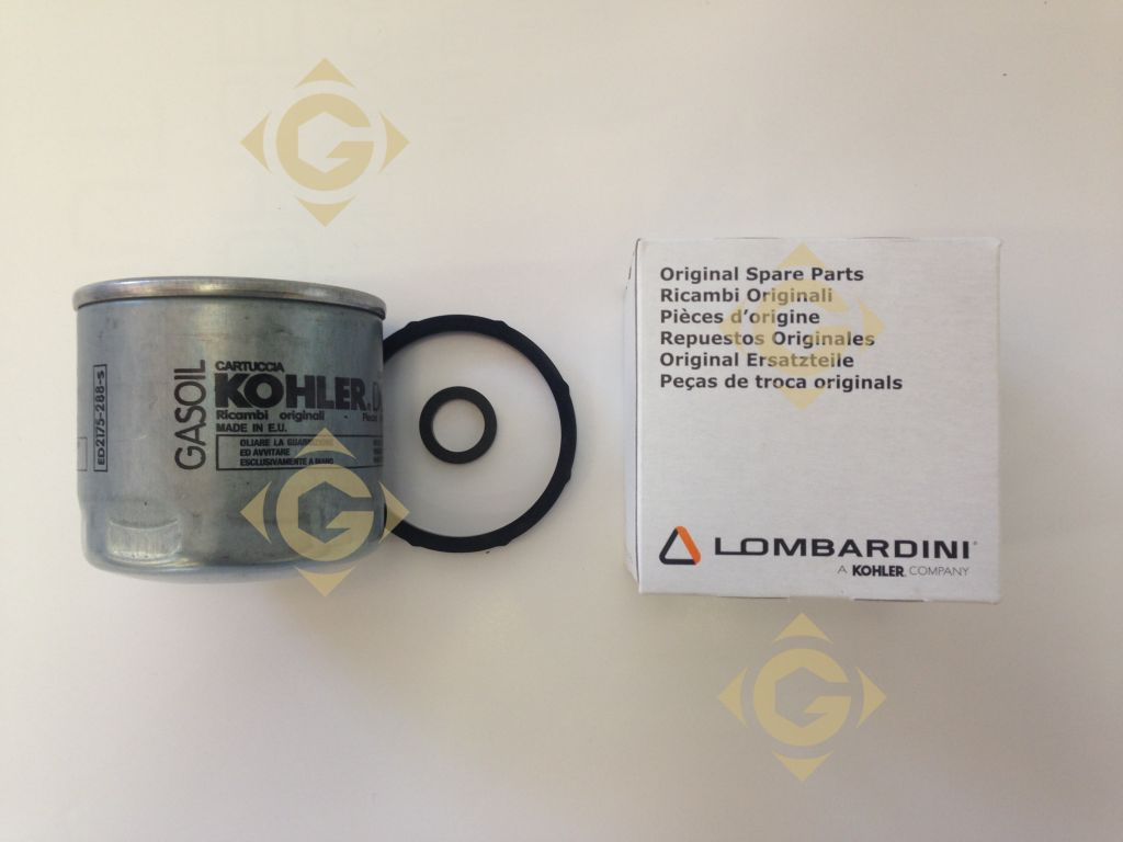 Fuel Filter Cartridge 2175288 engines LOMBARDINI - GDN INDUSTRIES