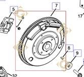 Flywheel k2402520s engines KOHLER