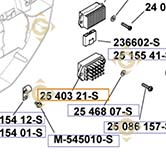 Spare parts Regulator k2540321s