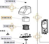 Air Prefilter k1808305s engines KOHLER