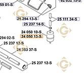 Spare parts Fuel Filter k2405013s