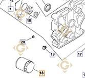Oil Filter k2805001s engines KOHLER